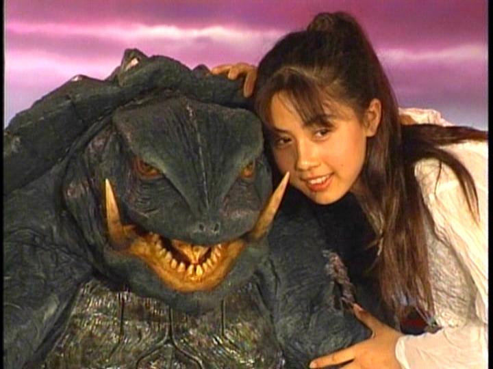 Yumiko Shaku Godzilla Photo SciFi Album